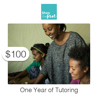 $100 Charitable Donation For: One Year's Worth of Tutoring
