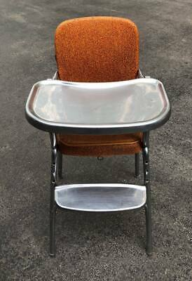 Terrific Vintage Cosco Vinyl And Metal High Chair Tray Footrest Dailytribune Chair Design For Home Dailytribuneorg