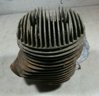 Vintage 1950's Lambretta Scooter 150 D Engine Cylinder & Head OEM Italy
