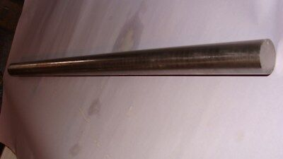 "Stainless steel 1 3/8"" round X 27 15/16"" long 304"