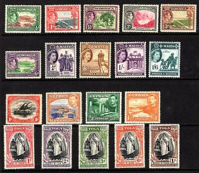 1¢ Wonder's ~ British Colonies Mnh/Mh Small Lot All Shown ~ D753