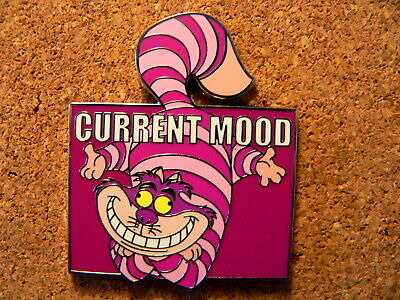 Cheshire Cat Disney Pin - Current Mood - Mystery - Completely Mad