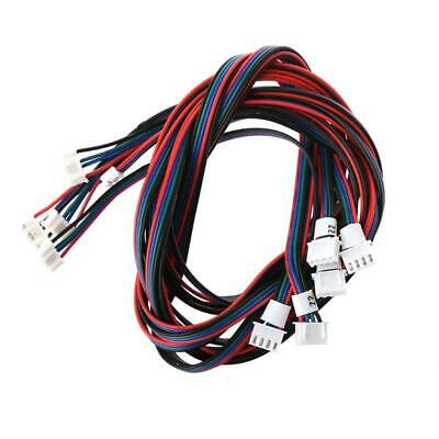 3D Printer 4-Pin Female-Female XH2.54 Connector Nema17 Stepper Motor Cable New