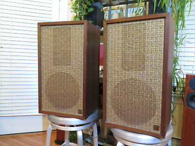 Acoustic Research AR2 Speakers Original Version Made in USA Consecutive Serials