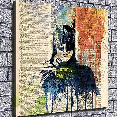 "12""x12"" Batman Poster HD Canvas print Painting Home Decor Picture Wall  art"