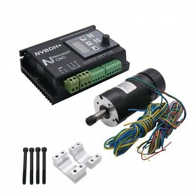 CNC Brushless Motor Driver Control Motor Mount+Hall f/ Spindle Engraving NVBDH+