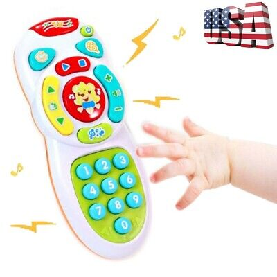 Baby Toy Music Mobile Phone Remote Control Educational Learning Toy Xmas Gift US