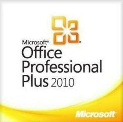 Microsoft Office Professional 2010 Plus Full version/1 PC/E-mail delivery