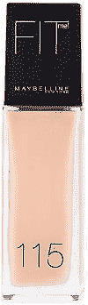 Maybelline Foundation - Matte Fit Me 115 30ml