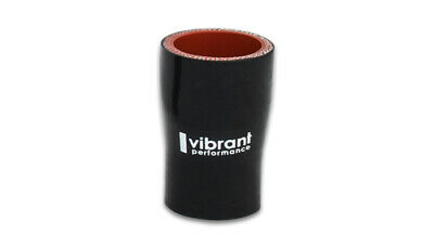 """RPS Silicone Hose Coupler 2.75/"""" ID 3 Ply /""""Black/"""" Universal 3/"""" Long"""