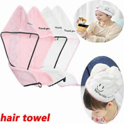 Microfiber Rapid Drying Hair Towel Quick Dry Hair Hat Wrapped Towel Bathing Cap