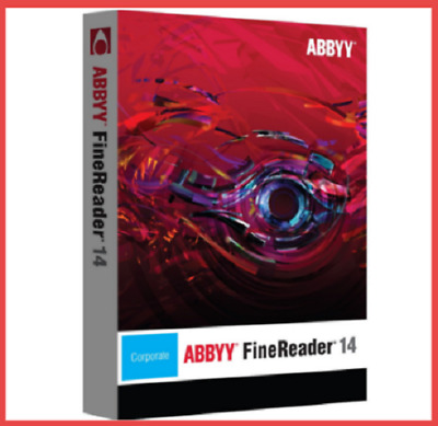 🔥ABBYY FINEREADER 14 Enterprise Full Version Lifetime Activation Fast Delivery