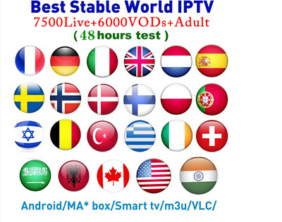 IPTV 3 mois Months World Smart IPTV/mag/box/Android/iOS/VLC | ADULT XXX