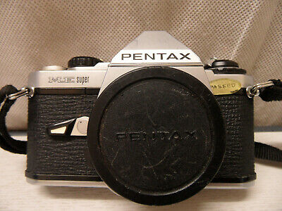 Vintage Pentax ME Super 35mm SLR Camera