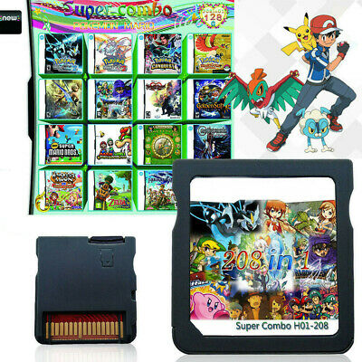 208/482 IN 1 NDS Game Cartridge for Nintendo Nintendo NDS NDSL NDSI 3DS 3DSLL/XL