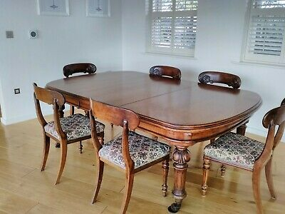 Need Large table for Christmas?  Extra wide Original Oak Victorian Dining Table