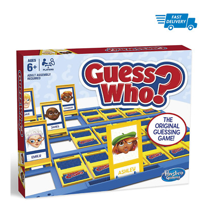 Hasbro Gaming Guess Who Family Board Game Evening Long Memory Educational Play