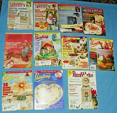 11 Painting Paintworks Decorative Artists Magazines