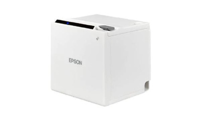 Epson TM-M30with Built-in USB, Ethernet (Power Supply and cable included ) White