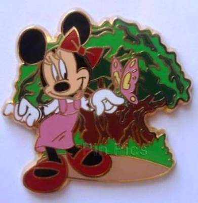 MINNIE Mouse AT The TREE OF LIFE & BUTTERFLY DISNEY Pin 78645