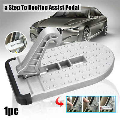 Doorstep Vehicle Access Roof Of Car Auto Door Step Latch Easily Rooftop Pedal