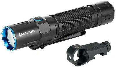 Olight M2R Pro Warrior Tactical Flashlight w Remote Switch & Mount NEW LED Light