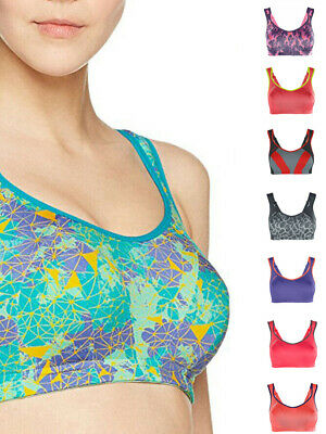 Shock Absorber Sports Bra Active S4490 Multi Racerback High Impact Soft Cup
