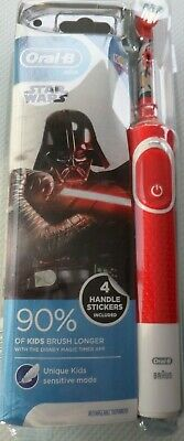 STAR WARS  Oral-B Stages Power Electric Toothbrush New for kids 3+ years