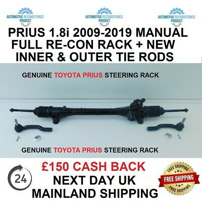TOYOTA PRIUS 1.8i HYBRID LEFT HAND  INNER TIE ROD END OUTER TRACK ROD END KIT