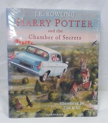 Harry Potter and the Chamber of Secrets: Illustrated Edition - NEW!! (06)