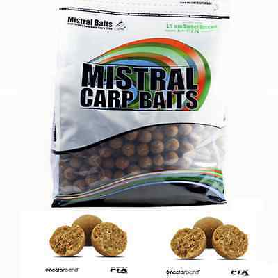 5 kg Rosehip Isotonic Boilies 10 25 mm 20 15 Ready Made Mistral Baits 1 kg