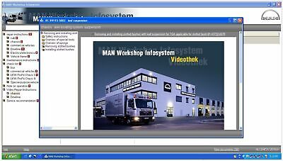MAN WIS SERVICE MANUAL ISO download.