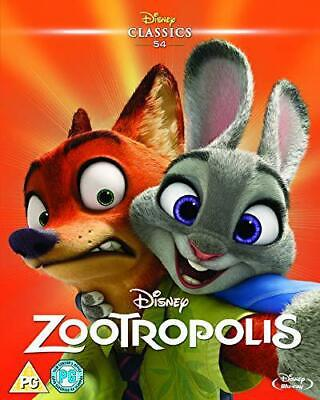 Zootropolis [Blu-ray] [2016], New, DVD, FREE & FAST Delivery