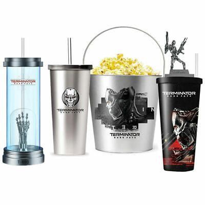 Terminator Dark Fate T-800 Endoskeleton Figure Topper Cup Exclusive Collection