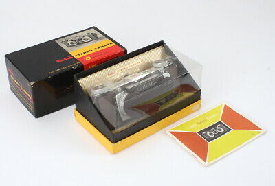 KODAK STEREO, 35/3.5 kodak ANASTON X 2, BOXED, SHUTTER ISSUE/cks/194776
