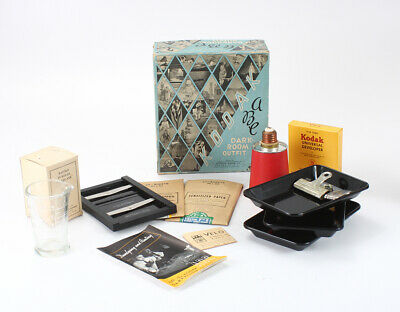 KODAK ABC DARKROOM OUTFIT (INCOMPLETE), BOXED, FOR DISPLAY ONLY/cks/195630