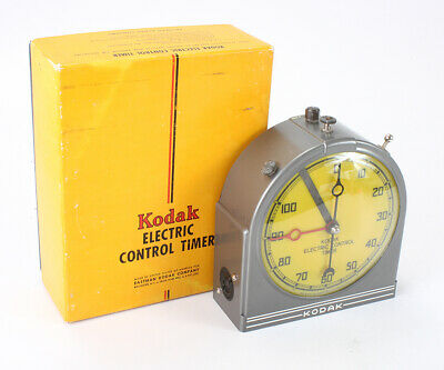 KODAK ELECTRIC CONTROL TIMER, BOXED, DEFECTIVE, FOR DISPLAY ONLY/cks/196292