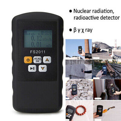 Nuclear Radiation Detector Beta Gamma X-ray Monitor Geiger Counter Test Kit