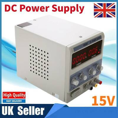 Bench Adjustable DC Power Supply Variable Precision Digital Double LED Display