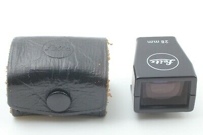 [ Near MINT w/ Original Case] Leica 28mm Bright-Line Viewfinder From JAPAN #0015