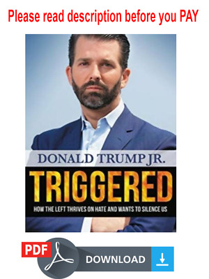 Triggered: How the Left Thrives on Hate and Wants to Silence Us AUDIO BOOK