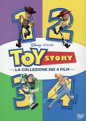 Toy Story Collection 1-4 (2019) 4 DVD