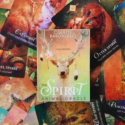 68X Tarot Card Spirit Animal Oracle By Colette Baron-Reid Full Card Deck English