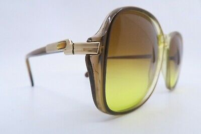 Vintage late 70s Cazal sunglasses made in West Germany gradient tinted men's M