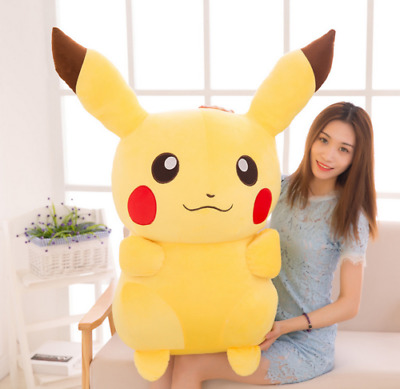 Giant Large Pokemon Go Pikachu Plush Soft Toy Stuffed Doll Kids Birthday Gifts~~