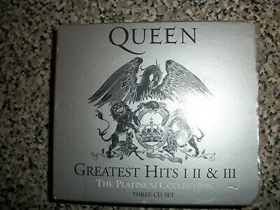 Queen Greatest Hits 1-2-3 - 3 Cd Box Set Mint Condition