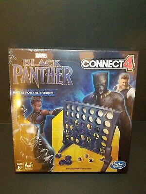 Connect 4 Game Black Panther Edition