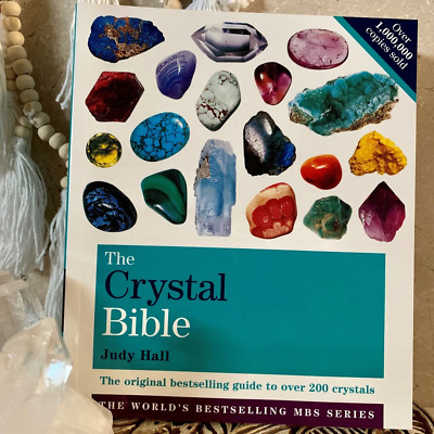 The Crystal Bible by Judy Hall (P . D . F)