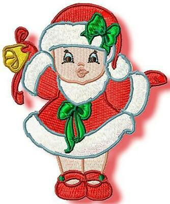 CHRISTMAS BABIES 20  MACHINE EMBROIDERY DESIGNS CD or USB