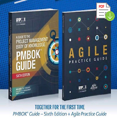 PMBOK Guide 6th Edition + Agile Practice Guide (E-B O O K) [High Quality] 🎓📚